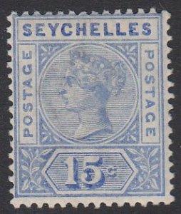 Seychelles 11 MVLH CV $11.00