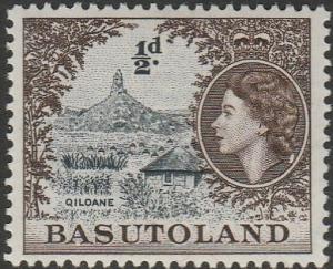 Basutoland, #46 Used From 1954