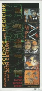 Palau 2000 Sc 560 Science DNA frogs CV $3.50