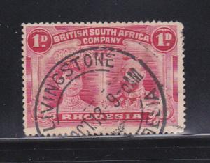 Rhodesia 102 U Queen Mary And King George V