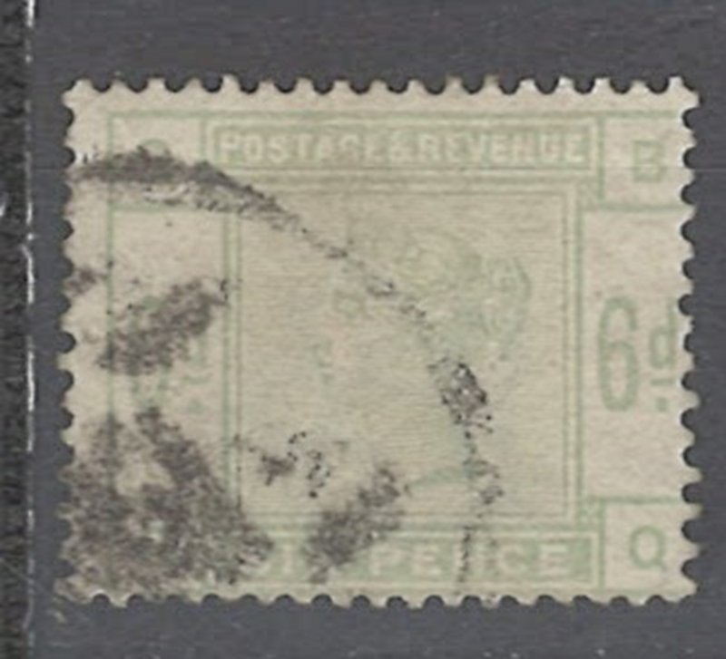 COLLECTION LOT # 2244 GREAT BRITAIN #105 1880 CV=$240