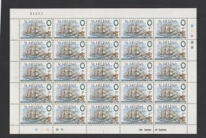 STAMP STATION PERTH St Helena #279-280 Full Sheets MNH