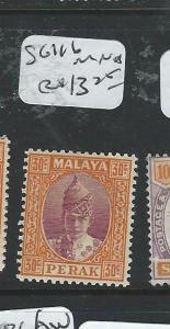 MALAYA PERAK (P2702B) 30C  SG 116     MNH
