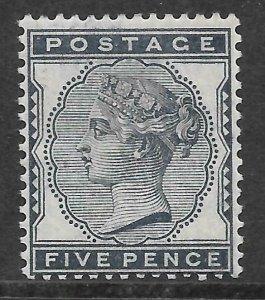 Sg 169 5d Indigo 1880-1881 Issue UNMOUNTED MINT/MNH