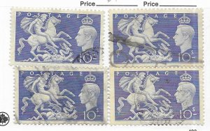 Great Britain #288 Used - Stamp - CAT VALUE $9.75 PICK ONE