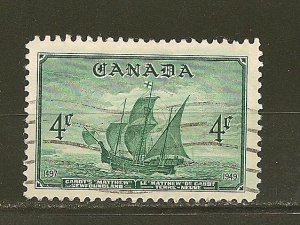 Canada 282 Newfoundland Used