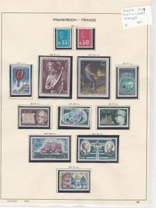 France 1971 MM+Used Stamps Ref: R6822