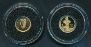[99491] Ireland 2011 20 Euros Celtic Cross Proof Gold 999 /  0,50 gram