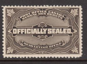 Canada #OX4 VF/NH With Natural Inclusion