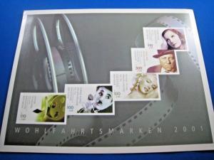 GERMANY MNH STAMPS - SCOTT #B890-B894 SOUVENIR FOLDER           (brig)