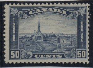 Canada Sc 179 1930 50c Grand Pre Church stamp mint LH