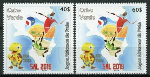 Cape Verde 2019 MNH Sports Stamps SAL 2019 African Beach Games Football 2v Set