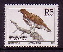 South Africa Birds Martial Eagle issue 1997 SG#819c