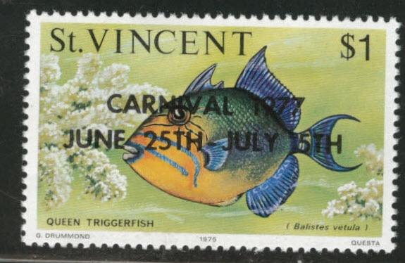 St Vincent Scott 503 MNH** 1977 overprint