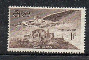 Ireland Sc C1 1949 1d Angel over Rock of Cashel Airmail stamp mint