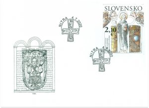 SLOVAKIA/2020 - (FDC) 1150th Anniversary of the Consecration, MNH
