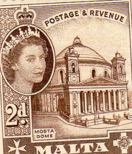 Malta 1956 Definitives  MLH