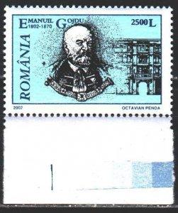 Romania. 2002. 5638. Goji, lawyer. MNH.
