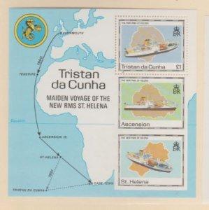 Tristan Da Cunha Scott #486 Stamps - Mint NH Souvenir Sheet