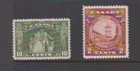 CANADA #209MLH,#210 MNH STAMPS  LOT#79