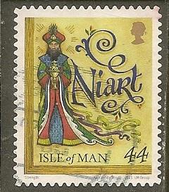 Isle of Man    Scott 1759   Christmas     Used