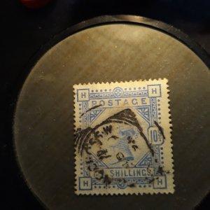 GB # 109 10 shilling  ultra