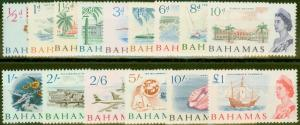 Bahamas 1965 set of 15 SG247-261 Superb MNH