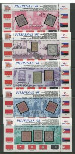 STAMP STATION PERTH Philippines #2561-65 Souvenir Sheet MNH CV$30.00