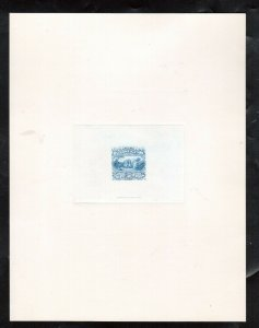 USA #121-E1a Extra Fine Large Die Essay On India Sunk On Card Full Size