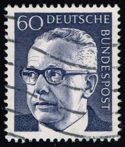 Germany #1034 Gustav Heinemann; Used (0.25)