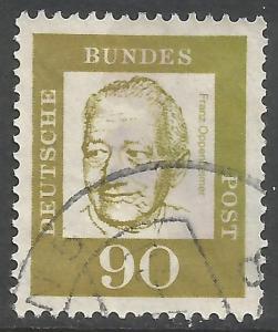 GERMANY 837 VFU W311-5