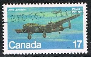CANADA 1702110 - 1980 Military Aircraft used single
