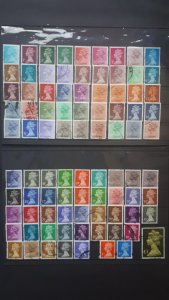 Great Britain # Queen Elizabeth II # LOT of 88 used