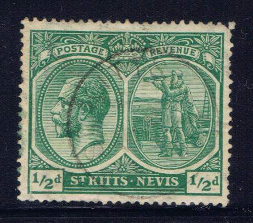 St Kitts-Nevis 37 Used 1921 issue