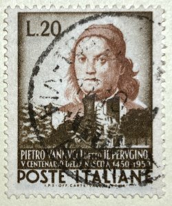 AlexStamps ITALY #581 XF Used