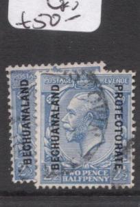 Bechuanaland SG 78-78a VFU (7dgq)