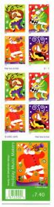 US Scott #3824b Holiday Music Makers Booklet. Full Booklet MNH. Free Shipping.
