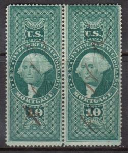 USA #R95c Used Pair