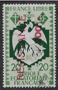 FRENCH EQUATORIAL AFRICA SC# B35  FVF/U    1944