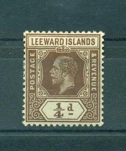 Leeward Islands sc# 46 mhr cat value $1.90
