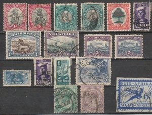 South Africa Used lot of 17 #190902-9
