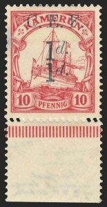 Cameroons Scott 55f Gibbons 3c Mint Stamp