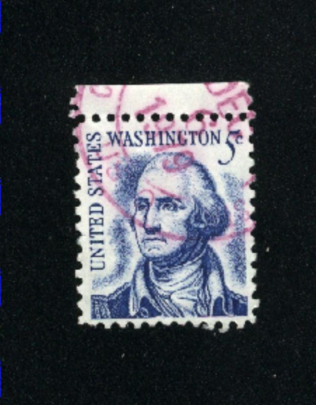 USA #1283  2  used 1965-78 PD .08