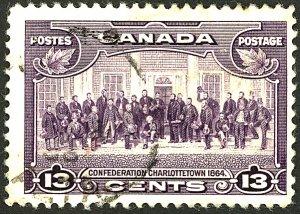 CANADA #224 USED