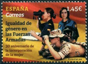 HERRICKSTAMP NEW ISSUES SPAIN Women in the Armed Forces