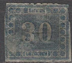 Prussia #22 F-VF Used  CV $225.00