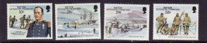 British Antarctic Territory-Sc#137-40- id2-unused NH set-Capt. Scott-1987-