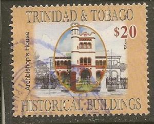 Trinidad & Tobago   Scott 825   Historic Building        Used