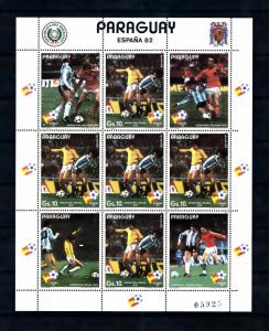 [60859] Paraguay 1982 World Cup Soccer Football Spain MNH