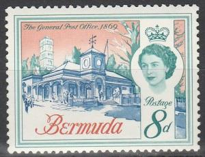Bermuda #181 F-VF Unused  (S2945)
